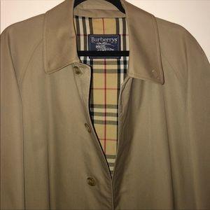 Vintage Burberry Men's Trench Coat Size US 38